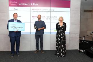 Bild 8 | Verleihung Silver Living JornalistInnen Award