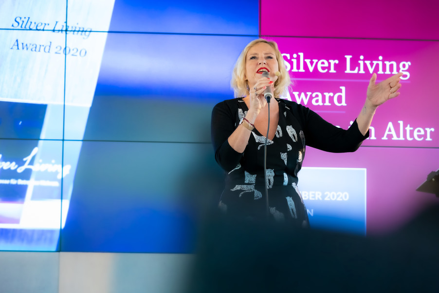Bild 11 | Verleihung Silver Living JornalistInnen Award