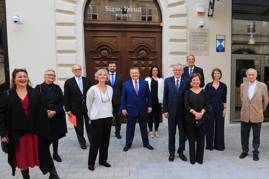Bild 3 | Kulturstadträtin Veronica Kaup-Hasler / Jeanne Wolff Bernstein, Beiratsvorsitzende der Sigmund ...