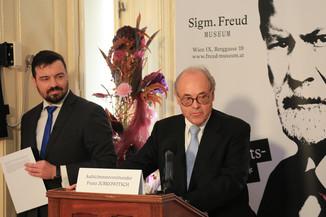 Bild 15 | Peter Nömaier, Vorstandsvorsitzender der Sigmund Freud Privatstiftung / Franz Jurkowitsch, ...
