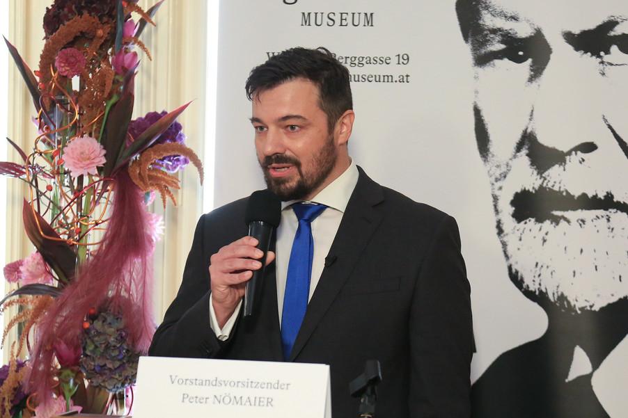 Bild 16 | Peter Nömaier, Vorstandsvorsitzender der Sigmund Freud Privatstiftung