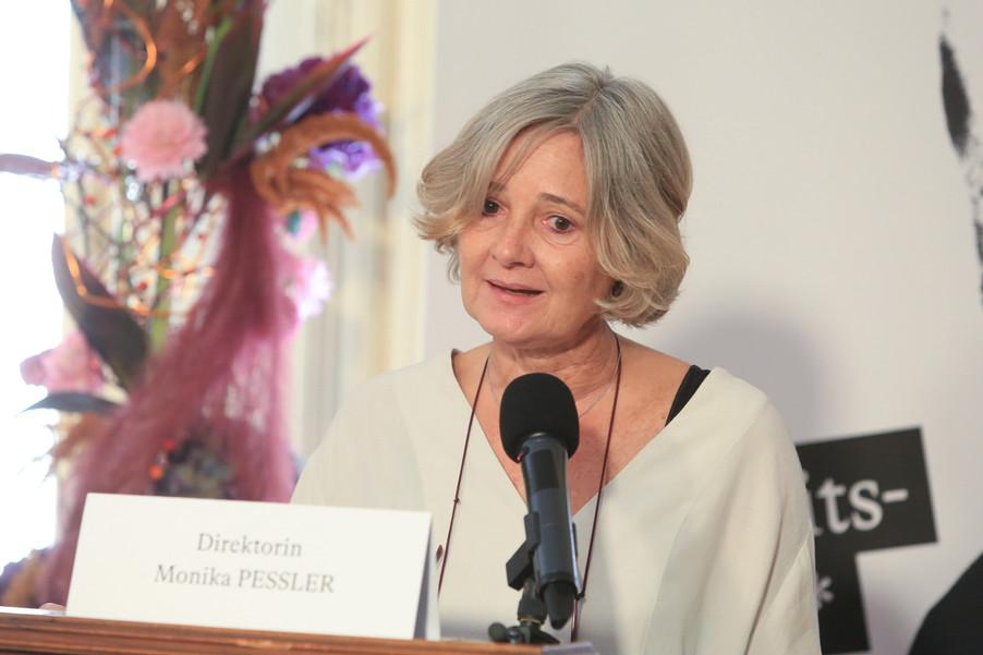 Bild 17 | Monika Pessler, Direktorin des Sigmund Freud Museums