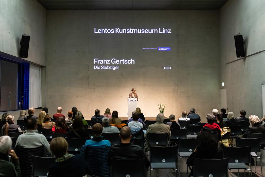 Bild 36 | Eröffnung  Franz Gertsch