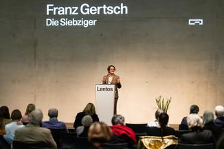 Bild 37 | Eröffnung  Franz Gertsch