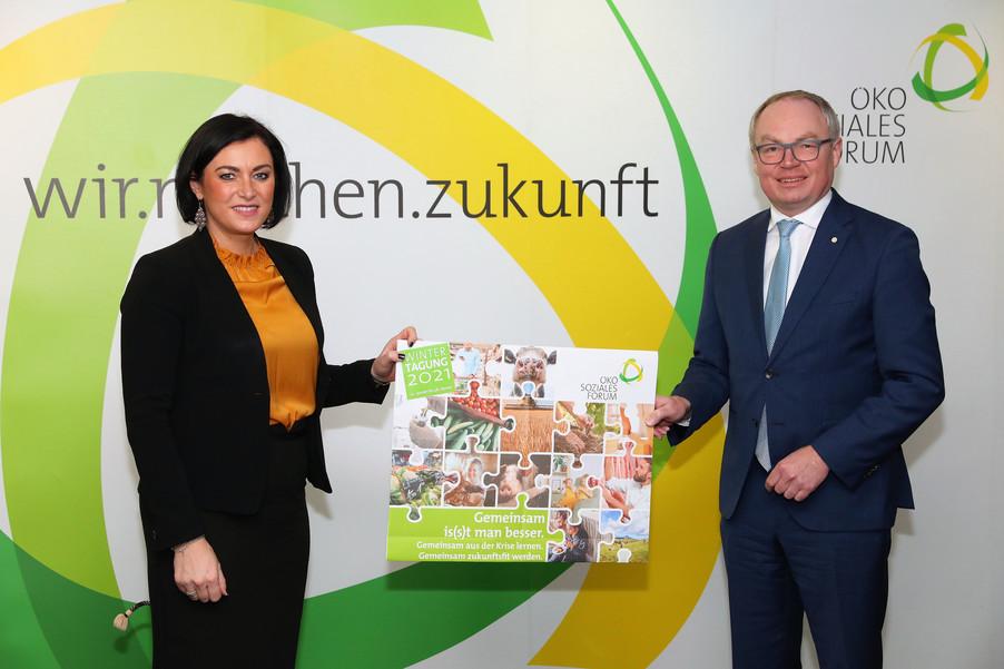 Bild 1 | Wintertagung 2021 – Pressegespräch und Eröffnungstag Agrarpolitik