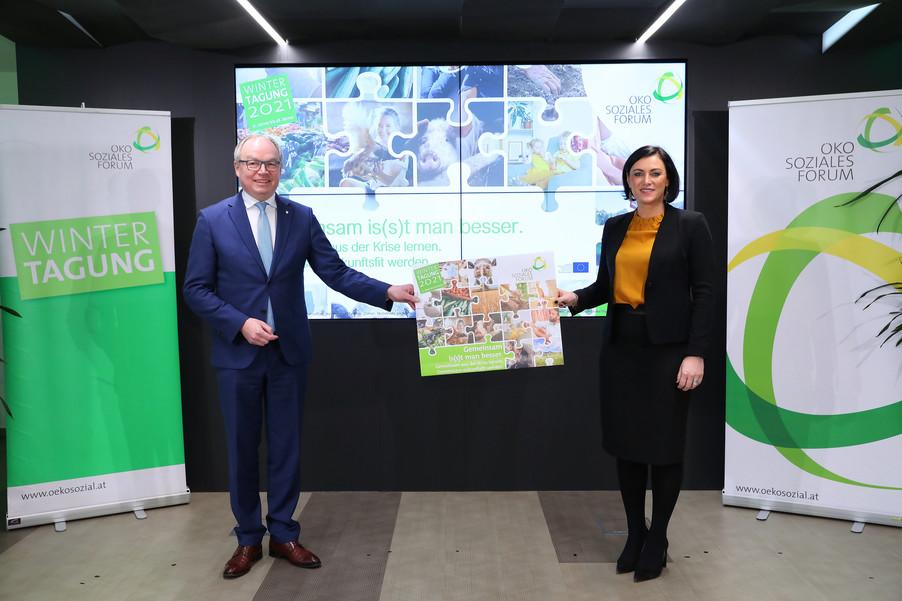 Bild 2 | Wintertagung 2021 – Pressegespräch und Eröffnungstag Agrarpolitik