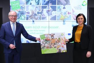 Bild 4 | Wintertagung 2021 – Pressegespräch und Eröffnungstag Agrarpolitik