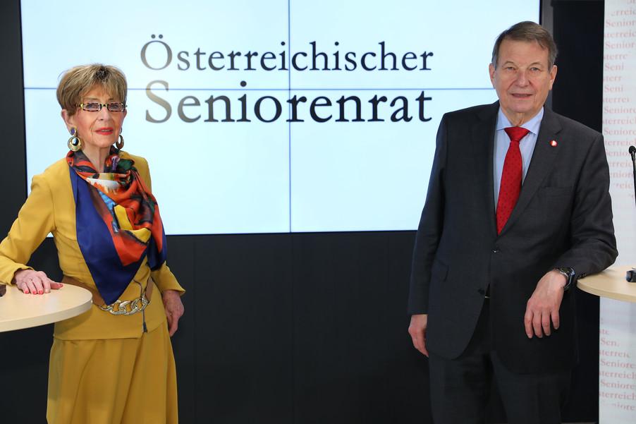 Bild 1 | Pressekonferenz des Österreichischen Seniorenrates