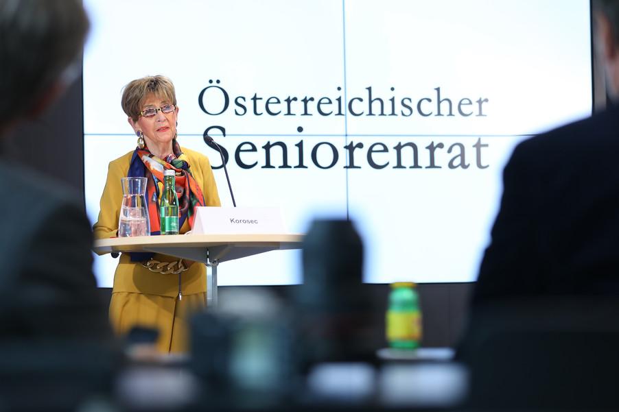 Bild 8 | Pressekonferenz des Österreichischen Seniorenrates