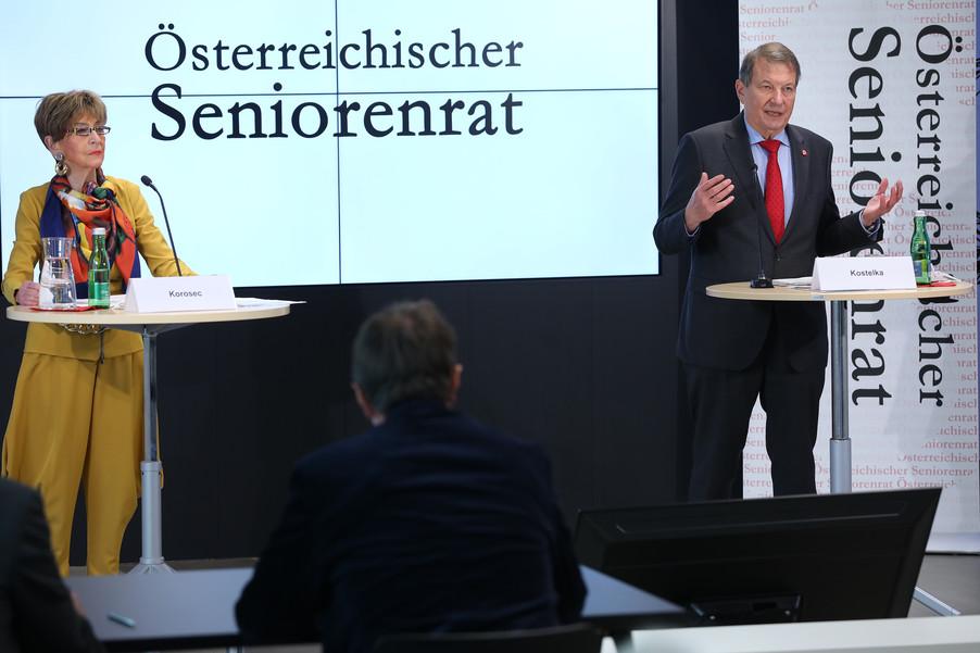 Bild 22 | Pressekonferenz des Österreichischen Seniorenrates