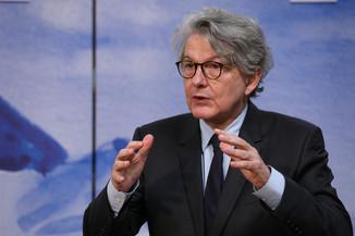 Bild 11 | Pressegespräch mit EU-Kommissar Breton zur Impfstoffstrategie