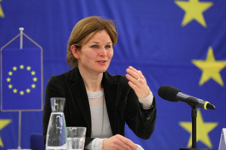 Bild 31 | Pressegespräch mit EU-Kommissar Breton zur Impfstoffstrategie