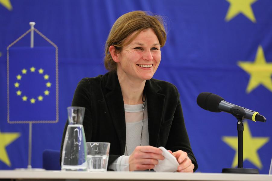 Bild 32 | Pressegespräch mit EU-Kommissar Breton zur Impfstoffstrategie