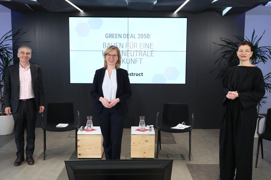 Bild 2 | Green Deal 2050: Bauen für eine klimaneutrale Zukunft - Lösungen gesucht