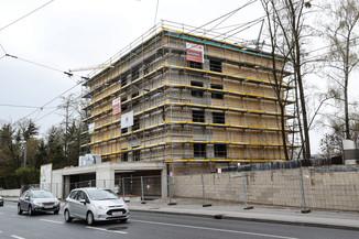 Bild 3   SALZBURG - 2021-04-20: Gleichenfeier für neues Ronald McDonald Kinderhilfe Haus in Salzburg ...