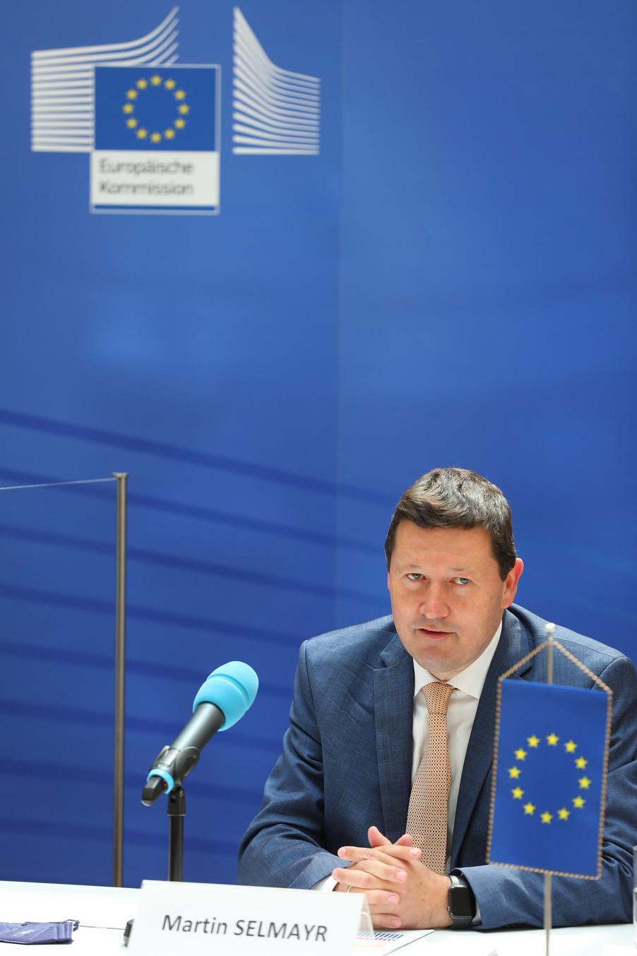 Bild 7   Pressegespräch mit Martin Selmayr