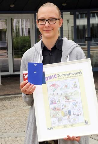 Bild 8   Schüler der BG BRG Mössinger gewinnt 1. Platz bei österreichweitem Zeichenwettbewerb