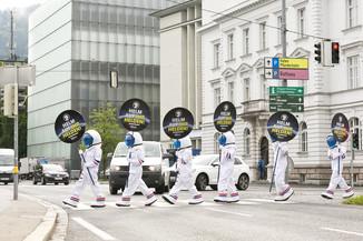 Bild 13 | Bregenz am 8.6.2021, APA KFV Kuratorium fuer Verkehrssicherheit, Event Nr. 0128.21, Gruppenfoto mit ...