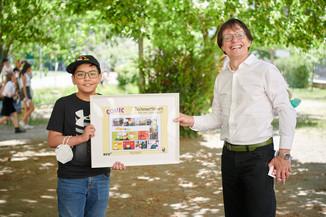Bild 1 | 2 SchülerInnen der BRG 3 gewinnen bei Zeichenwettbewerb