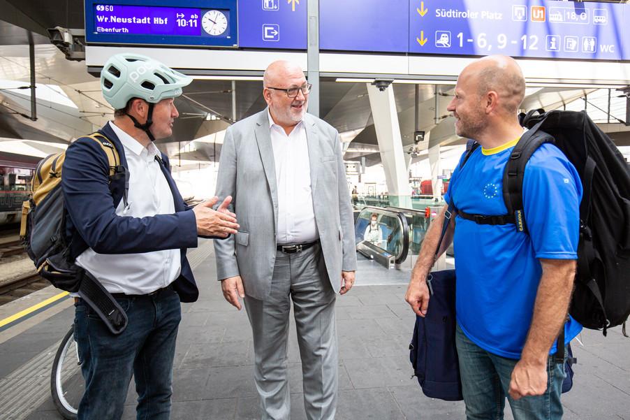 Bild 16   Bundesländer-Tour der Vertretung der Europäischen Kommission und der Österreichischen ...