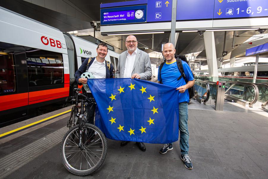 Bild 25   Bundesländer-Tour der Vertretung der Europäischen Kommission und der Österreichischen ...
