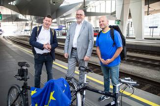 Bild 31   Bundesländer-Tour der Vertretung der Europäischen Kommission und der Österreichischen ...