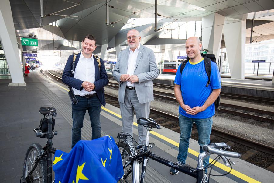 Bild 33   Bundesländer-Tour der Vertretung der Europäischen Kommission und der Österreichischen ...