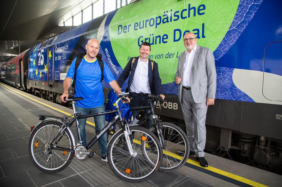 Bild 38   Bundesländer-Tour der Vertretung der Europäischen Kommission und der Österreichischen ...