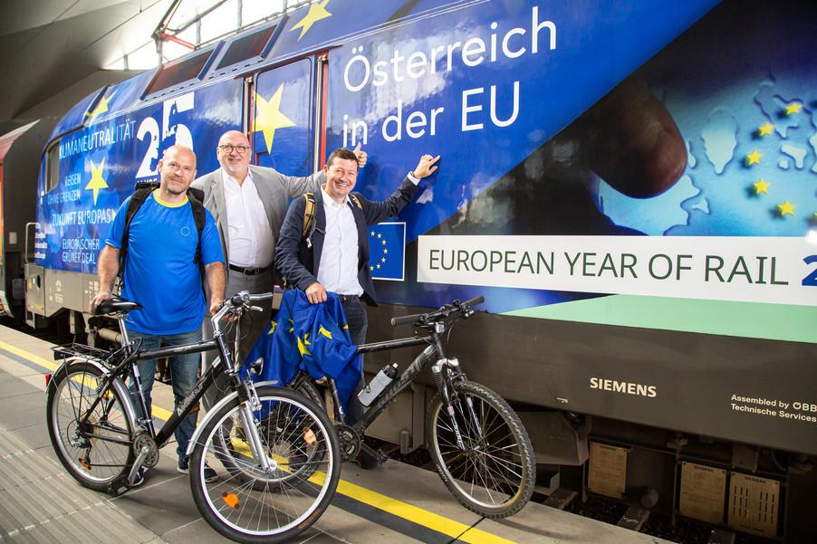 Bild 40   Bundesländer-Tour der Vertretung der Europäischen Kommission und der Österreichischen ...