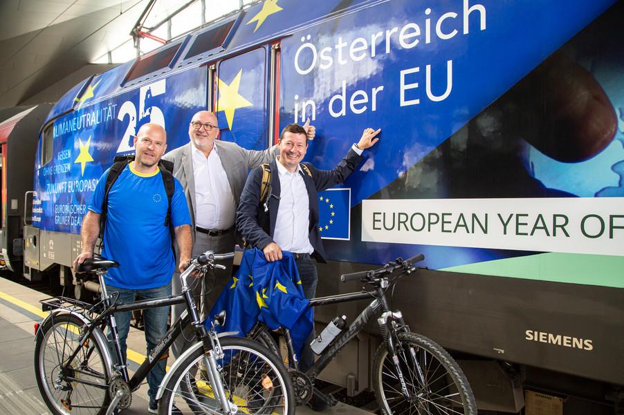 Bild 41   Bundesländer-Tour der Vertretung der Europäischen Kommission und der Österreichischen ...