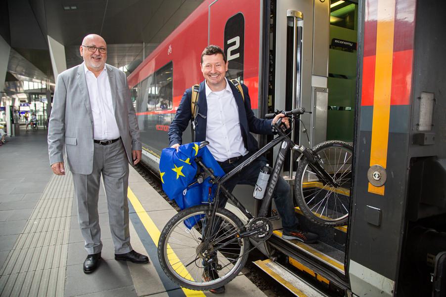 Bild 42   Bundesländer-Tour der Vertretung der Europäischen Kommission und der Österreichischen ...