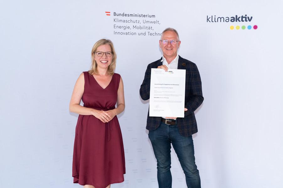 Bild 5   klimaaktiv Bronze Auszeichnung für die Planung der Sanierung der Seniorenresidenz Ragnitz in Graz
