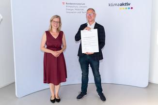 Bild 6   klimaaktiv Bronze Auszeichnung für die Planung der Sanierung des Pflegeheims Kirschenhof in Pirka