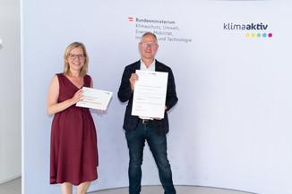Bild 13   klimaaktiv Bronze Auszeichnung für die Sanierung des Pflegeheims Kastanienhof in Groß St. Florian