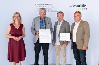 Bild 14   klimaaktiv Bronze Auszeichnung für das Pflegewohnheim Peter Rosegger in Graz
