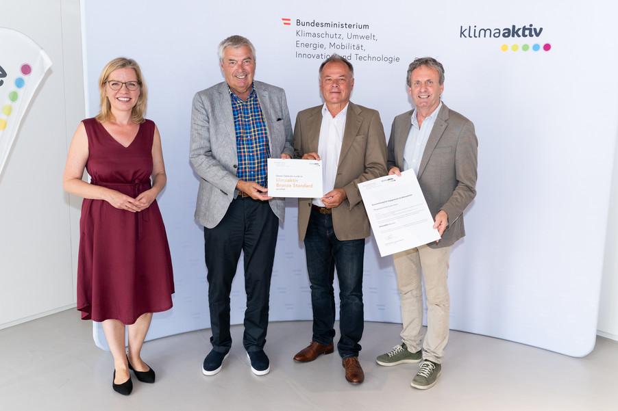 Bild 15   klimaaktiv Bronze Auszeichnung für das Pflegewohnheim Erika Horn in Graz
