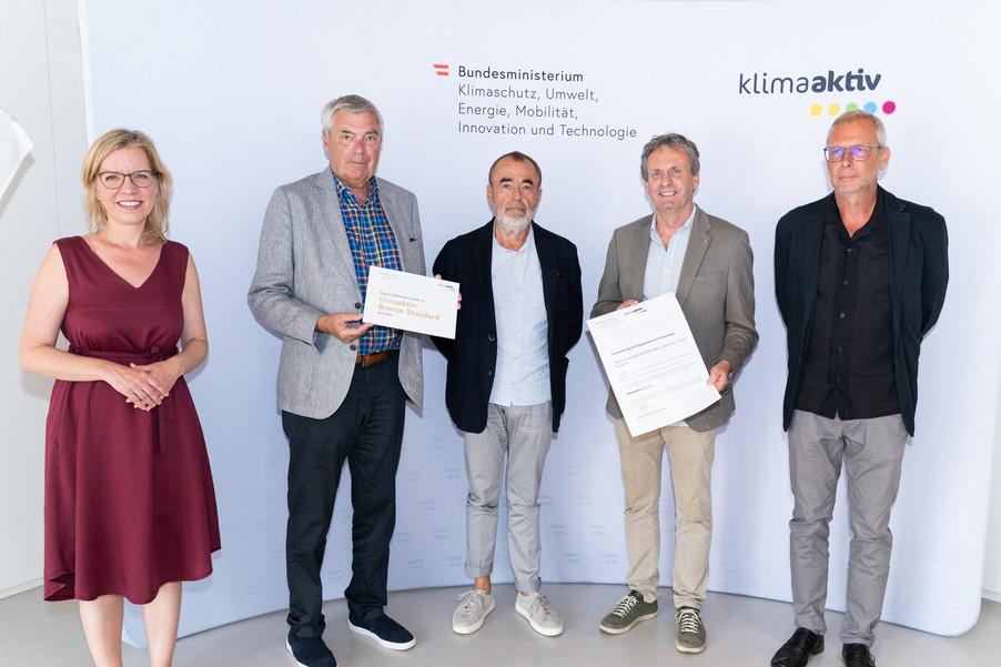 Bild 16   klimaaktiv Bronze Auszeichnung für die Wohnhausanlagen Reininghaus Quartier 7 - Q1A und Q2A in Graz