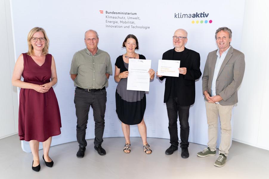 Bild 17   klimaaktiv Bronze Auszeichnung für das Kooperative Wohnprojekt KooWo Volkersdorf, Haus 1-3