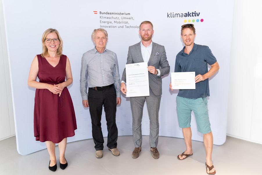 Bild 18   klimaaktiv Bronze Auszeichnung für das Wohn- und Geschäftszentrum My Smart City Graz