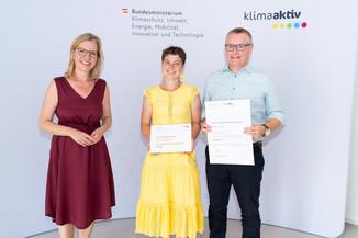 Bild 20   klimaaktiv Bronze Auszeichnung für das Passivhaus Moser in Brodingberg