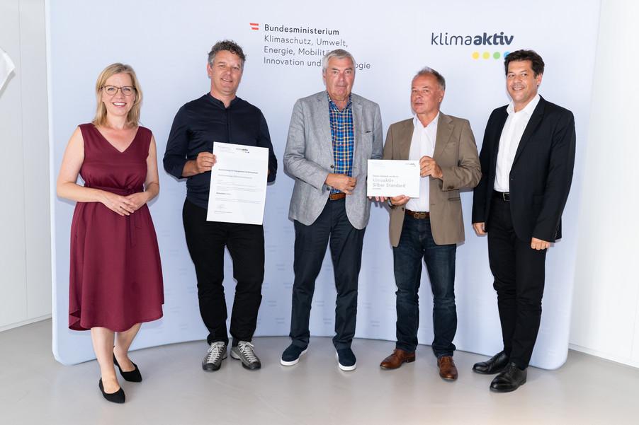 Bild 22   klimaaktiv Silber Auszeichnung für die Wohnhausanlage ENW Hummelkaserne - Reininghaus in Graz.