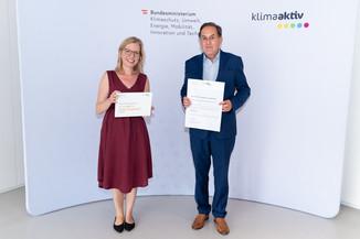 Bild 24   klimaaktiv Silber bzw. Gold Auszeichnung für die Wohnhausanlage Albert Schweitzer Gasse 14 und 14a ...