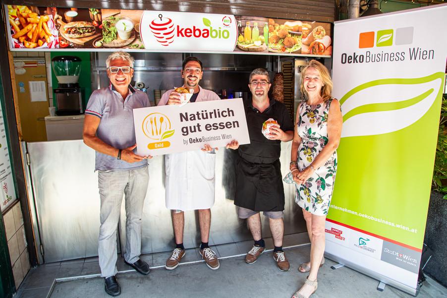 Bild 1 | Erster ausgezeichneter Bio-Kebapstand in Wien