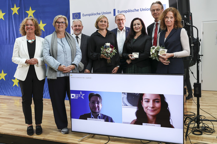 Bild 1   Verleihung des Europäischen Bürgerpreises