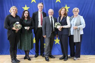 Bild 2   Verleihung des Europäischen Bürgerpreises
