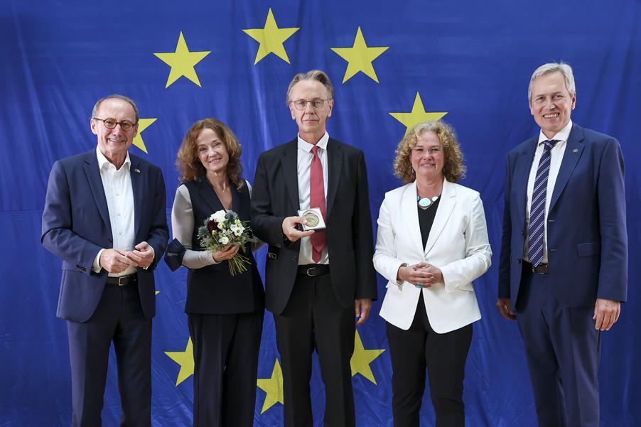 Bild 4   Verleihung des Europäischen Bürgerpreises