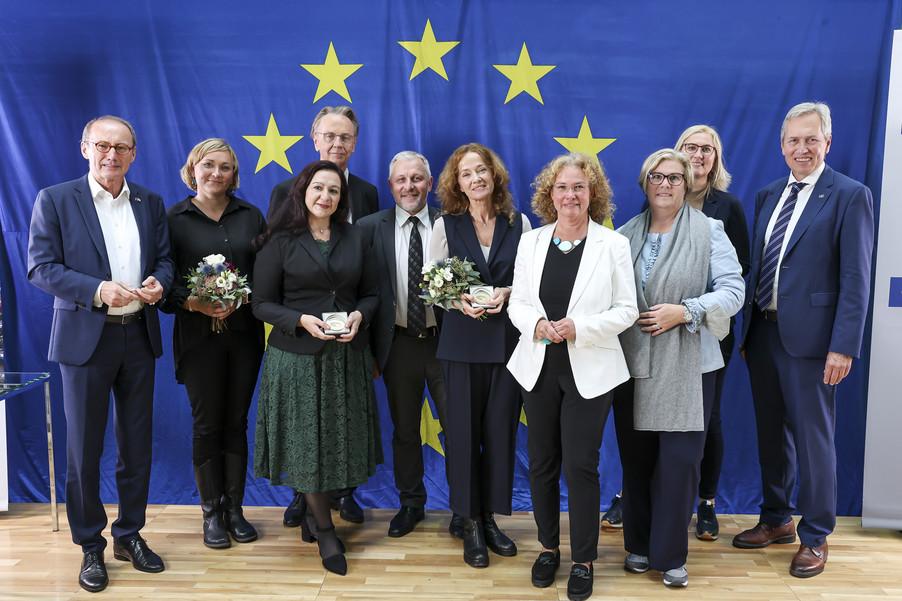 Bild 5   Verleihung des Europäischen Bürgerpreises