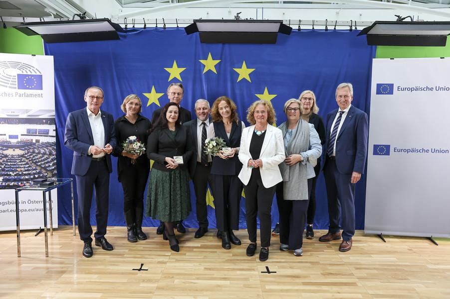 Bild 7   Verleihung des Europäischen Bürgerpreises