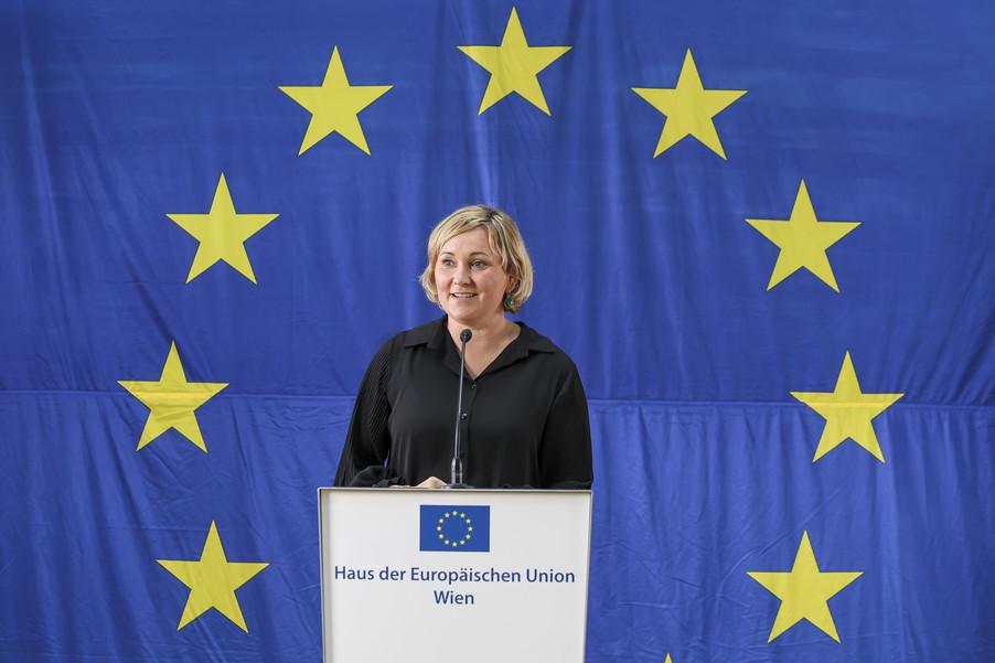 Bild 16   Verleihung des Europäischen Bürgerpreises