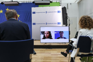 Bild 35   Verleihung des Europäischen Bürgerpreises